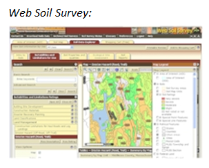 Sample of Web Soil Survey